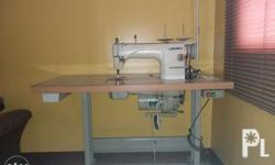 Single Needle Straight Industrial Sewing Machine + 4