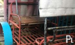 Heavy duty pipe construction with coil spring pang