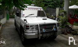 manual diesel 4x4 new tires roofrack bacolod