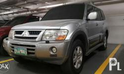 2005 local pajero ck Diesel engine Automatic trans. +