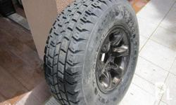 spare tire for mitsubishi pajero 2nd gen with 31x15