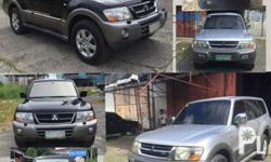Pajero Shogun ck model, commercial and imported �