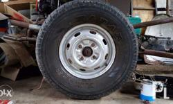 tire only 265 70 15 4pcs 2500 each no rims included