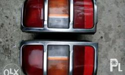 2nd Hand Pajero tail lights for sale for model 95 - 98