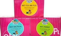 Pampered pooch soap anti tick and flea for cats and
