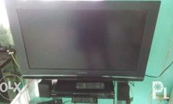 Panasonic TV 32 inch. Comes with Samsung Home Theater