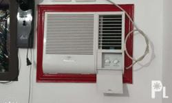 National Panasonic Aircon 3/4 HP 1 year old Di na po