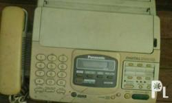 Panasonic KX-F2781 Fax machine with voicemail Issue: