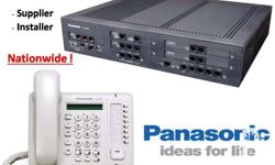 Panasonic PABX Telephone Intercom System We supply and