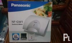 Panasonic sandwich & coffee maker ... Brand new items
