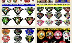 Panel board design for your motorcycles.
