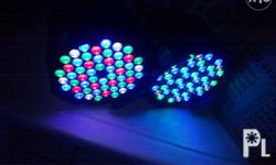 Par led lights 54x3watts Rgbw colors Brand new w