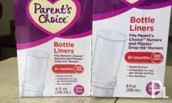 Bottle liner fit parents choice nursers and PLAYTEX