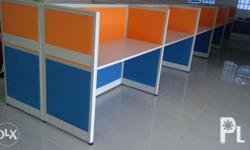 Modular office partition, Aluminum profile , MFC