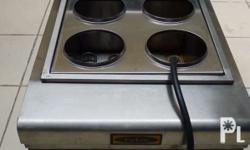 Pasta boiler- 4 holes With drain system 2nd hand but