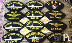 Selling wide variety of ricamated patches. No Made in