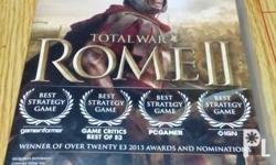 For Sale Rome II Pc Game installer 3 Disc DvD-Original