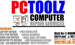 SERVICES OFFERED: **LAPTOP REPAIR and Desktop PC