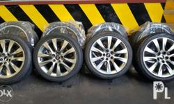 114 x 5 mags & tires - Kumho tires 245 40 18 with - 1