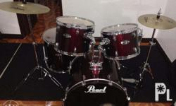 Bought this Pearl Drum Set just this year (Feb. 2015)