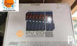 Brand New Peavey 20USB Mixer Brand New On Sale Contact