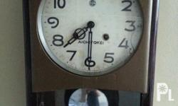 Pendulum wall clock from japan Clock working exceot