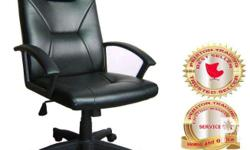 EXECUTIVE CHAIRS Heavy Duty Metal Base Gas-lift