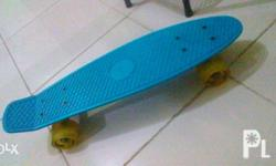 Slighty used. Penny board (Landway is the brand).