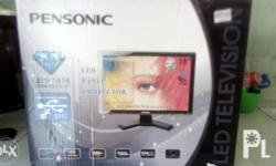 Pensonic flat screen led tv 16' brand new price 4,730.
