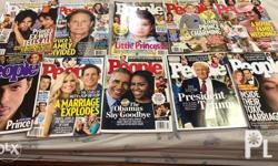 People Magazine all in good condition assorted from