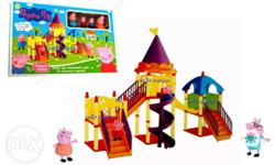 Peppa Pig Daddy Mummy George Amusement Park Light