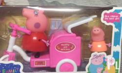 Peppa Pig Toy Tricycle Toy Car