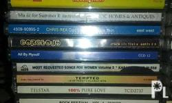 My husband personal cd collections from uk.