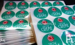Personalized Sticker Printing - Price depends on size,