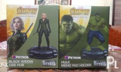Petron Avengers Die Cast Metals Action Figures Black