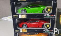 Petron Lamborghini Toy Set. Selling as a set only