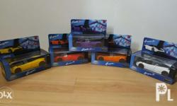 Sealed Petron Pagani Cars. Box are in excellent