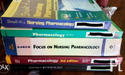 Set of reference books on Pharmacology and