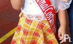 2nd Hand once lang nagamit 2nd placer best in costume
