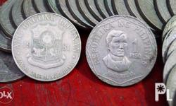 Philippine old coins Price = 40 pesos each Available: