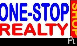 BUYING OR SELLING REAL ESTATE ? ONE-STOP REALTY can