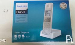 Philips D450 Cordless telephone with speakerphone Shop