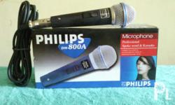 For sale!! Philips DM800A microphone with 5-mtrs cord