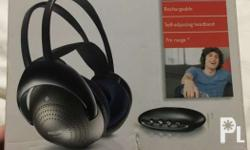 Philips Wireless Headphones for TV/Television IR