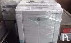 All types of photocopying machines. Laser copy comes