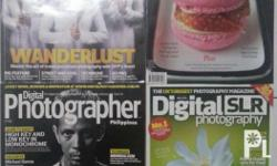 Photography magazines back issues (set of 4) Please see