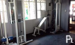 For sale are the 2nd hand GYM equipments as you will