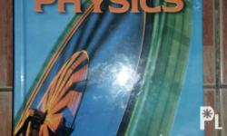 Unused hardbound Physics book for (Highschool) of my