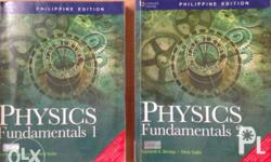 Physics Fundamentals 1 & 2 for only 400 pesos with