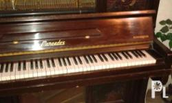 Piano-mercedes-concertina Made in italy Bargain sale